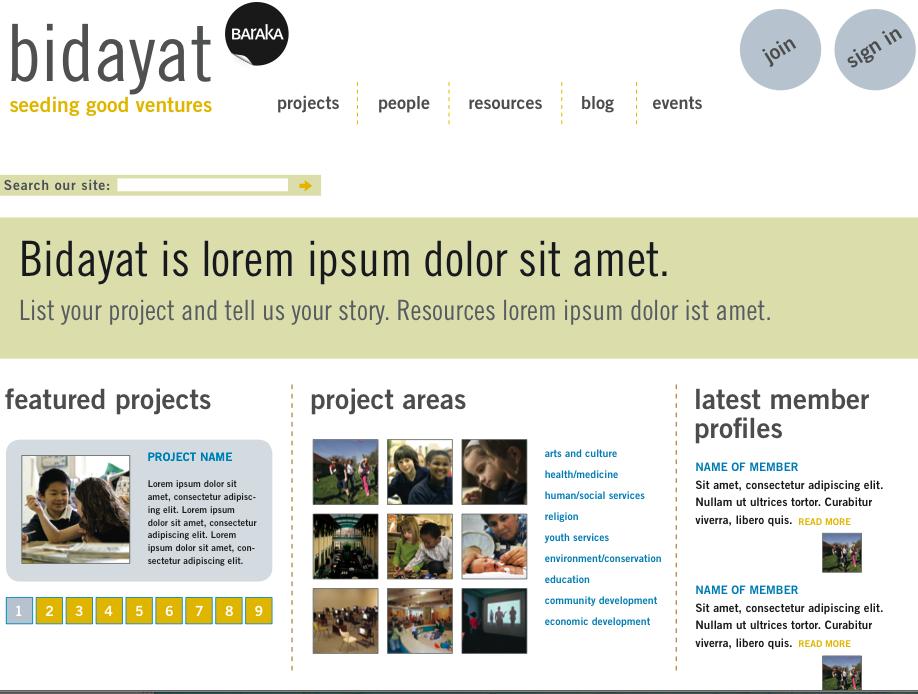 bidayat-homepage
